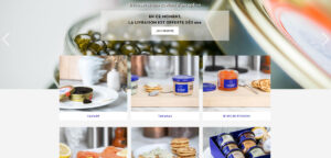 GAIDO - Création du site web Internet comptoir du caviar