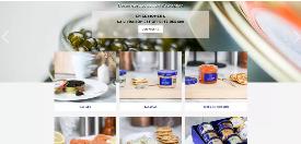 GAÏDO - Création du site web Internet E-commerce Prestashop le comptoir du caviar